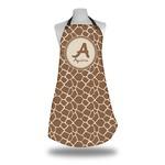 Giraffe Print Apron (Personalized)
