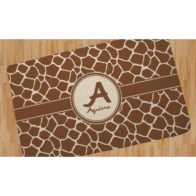 Giraffe Print Area Rug (Personalized)