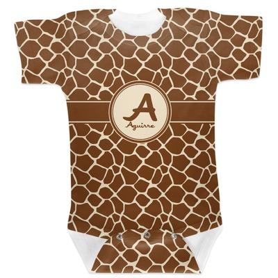 Giraffe Print Baby Bodysuit (Personalized)