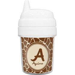 Giraffe Print Baby Sippy Cup (Personalized)