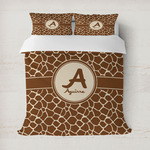 Giraffe Print Duvet Cover (Personalized)