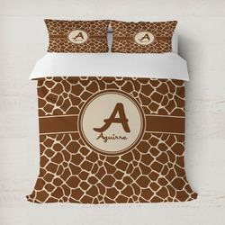 Giraffe Print Duvet Covers (Personalized)