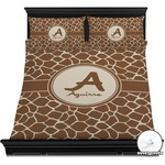 Giraffe Print Duvet Cover Set (Personalized)
