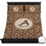 Giraffe Print Duvet Cover Set (Personalized)