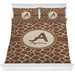 Giraffe Print Comforter Set (Personalized)