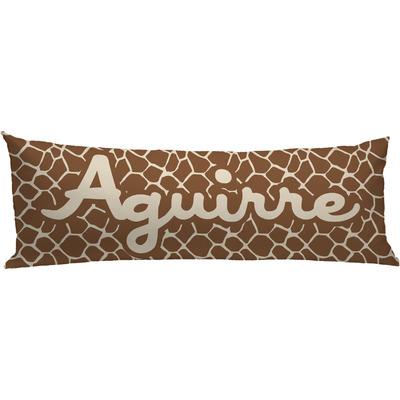 Animal Body Pillow Pattern : Giraffe Print Body Pillow Case (Personalized) - YouCustomizeIt