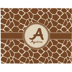 Giraffe Print Placemat (Fabric) (Personalized)