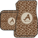 Giraffe Print Car Floor Mats (Personalized)