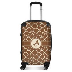Giraffe Print Suitcase (Personalized)