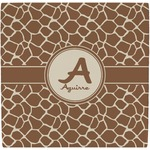 Giraffe Print Ceramic Tile Hot Pad (Personalized)