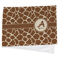 Giraffe Print Cooling Towel (Personalized)