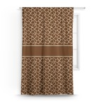 Giraffe Print Curtain (Personalized)
