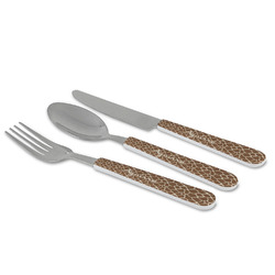 Giraffe Print Cutlery Set (Personalized)