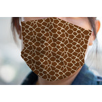 Giraffe Print Face Mask Cover (Personalized)