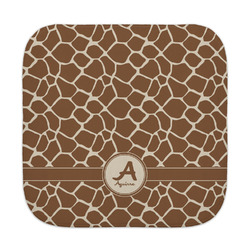 Giraffe Print Face Towel (Personalized)