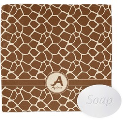 Giraffe Print Wash Cloth (Personalized)