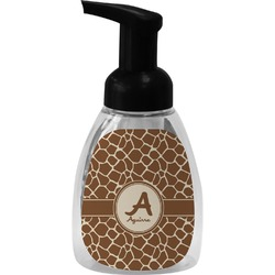 Giraffe Print Foam Soap Dispenser (Personalized)