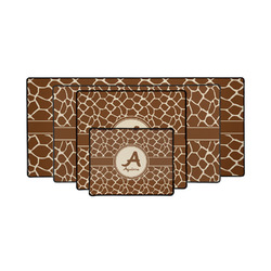 Giraffe Print Gaming Mouse Pad (Personalized)