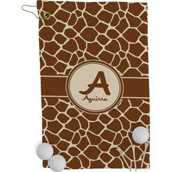Giraffe Print Golf Towel - Full Print (Personalized)