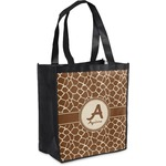 Giraffe Print Grocery Bag (Personalized)