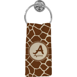 Giraffe Print Hand Towel - Full Print (Personalized)