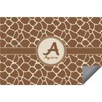 Giraffe Print Indoor / Outdoor Rug (Personalized)