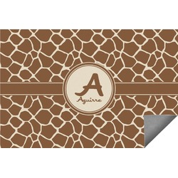Giraffe Print Indoor / Outdoor Rug (Personalized)