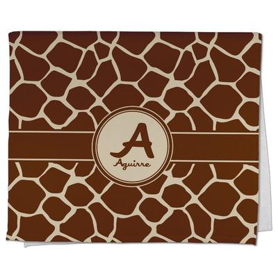 Giraffe Print Kitchen Towel - Full Print (Personalized)