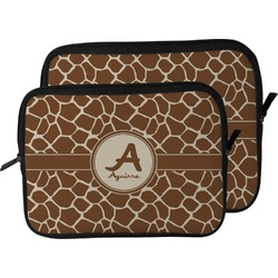 Giraffe Print Laptop Sleeve / Case (Personalized)