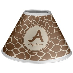 Giraffe Print Coolie Lamp Shade (Personalized)