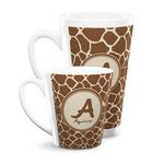 Giraffe Print Latte Mug (Personalized)