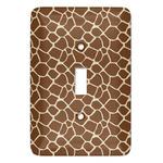 Giraffe Print Light Switch Covers (Personalized)