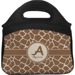 Giraffe Print Lunch Tote (Personalized)