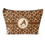 Giraffe Print Makeup Bags (Personalized)