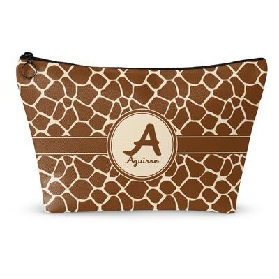 Giraffe Print Makeup Bags (Personalized)