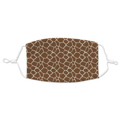 Giraffe Print Adult Cloth Face Masks (Available in 2 Sizes) (Personalized)