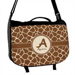 Giraffe Print Messenger Bag (Personalized)