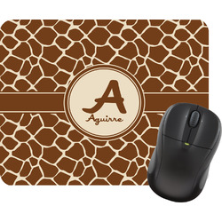 Giraffe Print Mouse Pad (Personalized)