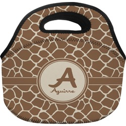 Giraffe Print Lunch Bag (Personalized)