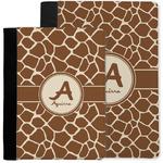 Giraffe Print Notebook Padfolio w/ Name and Initial
