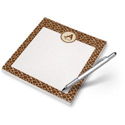 Giraffe Print Notepad (Personalized)