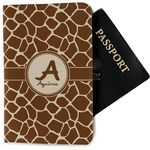 Giraffe Print Passport Holder - Fabric (Personalized)