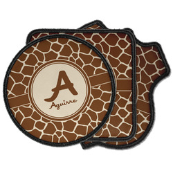 Giraffe Print Iron on Patches (Personalized)