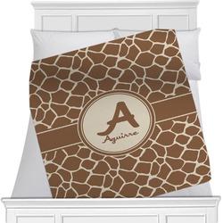 Giraffe Print Blanket (Personalized)