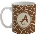 Giraffe Print Coffee Mug (Personalized)