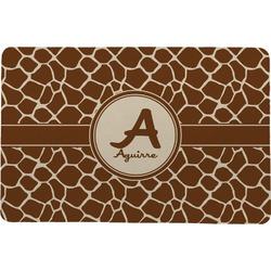 Giraffe Print Comfort Mat (Personalized)