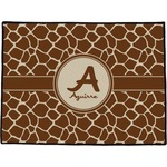 Giraffe Print Door Mat (Personalized)