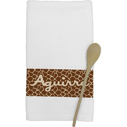 Giraffe Print Kitchen Towel (Personalized)