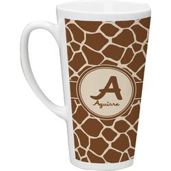 Giraffe Print 16 Oz Latte Mug (Personalized)