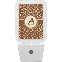 Giraffe Print Night Light (Personalized)
